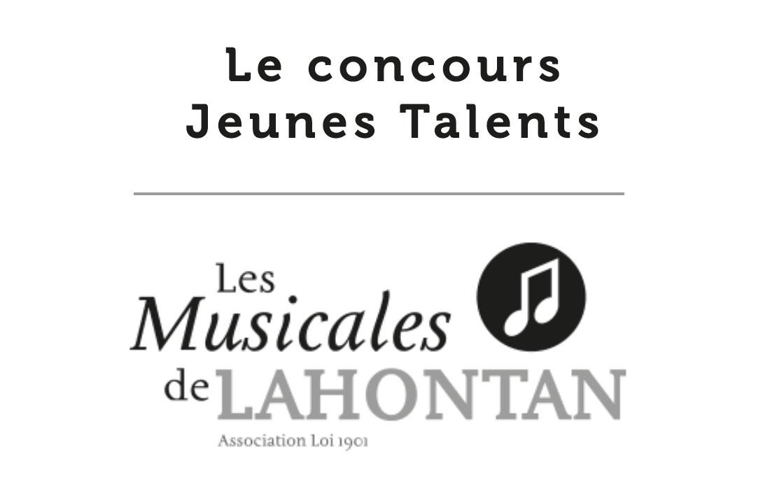 Formulaire du Concours Jeune Talent