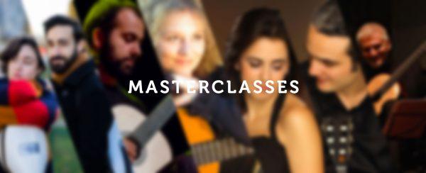 Affiche du pass MasterClasses du Festival de Guitare